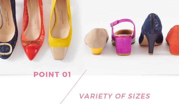 POINT01 VARIETY OF SIZES