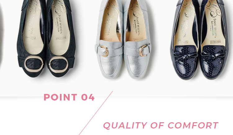 POINT04 QUALITY OF COMFORT
