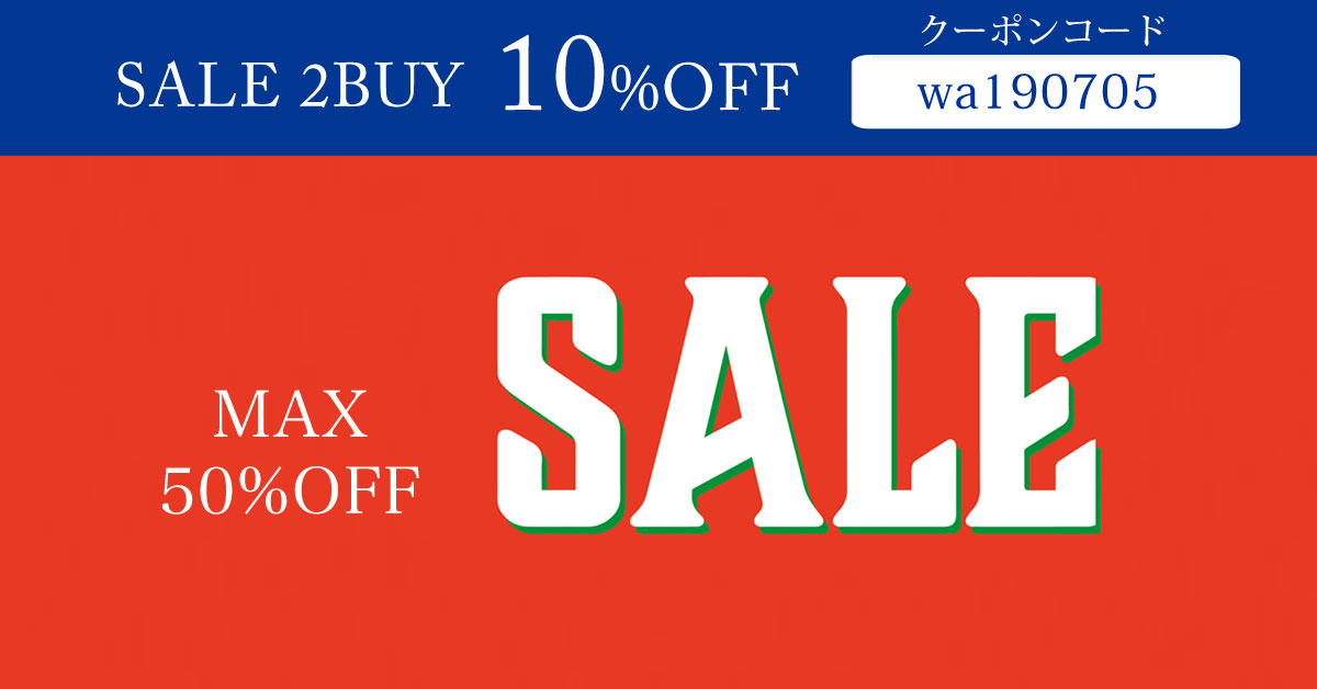 MAX50%OFF SALE 2buy10%off