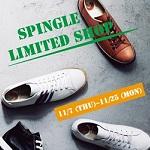 11月7日(木)〜11月25日(月)、WASH たまプラーザテラス店で『SPINGLE LIMITED SHOP(スピングルリミテッドショップ)』開催!!