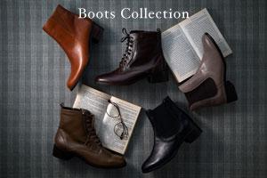 ブーツの季節が到来>>今年のブーツはどのカラーで選ぶ??