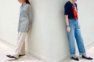 人気定番アイテムの夏スタイル-Staff Snap