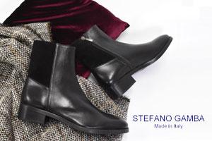 STEFANO GAMBA(ステファノガンバ)の大人なショートブーツ
