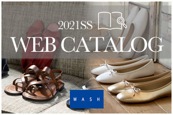 WASH WEBカタログ 2021Spring/Summer Collection公開