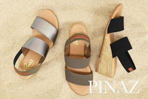 【PINAZ】履き心地抜群 。リゾート感あふれるスペイン発の人気ブランド